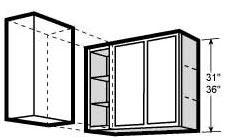 2 Shelves Fixed