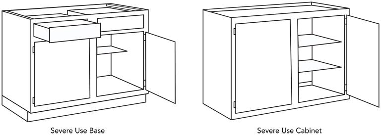 Bon Severe Use Cabinet